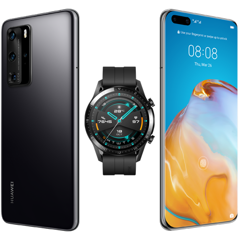 P40 Pro в комплект с Watch GT 2 46mm