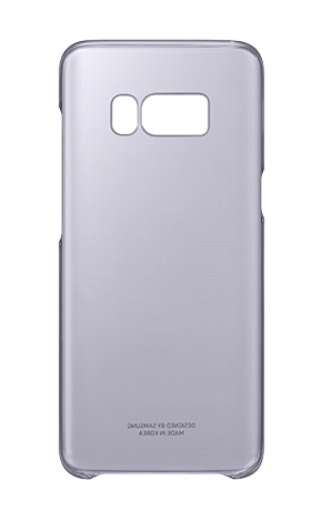 Clear Cover за Samsung Galaxy S8 Plus (сив)
