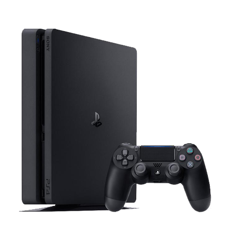 PlayStation 4 Slim 500 GB + 3 игри + PS Plus
