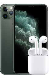 Apple iPhone 11 Pro Max 64 GB + AirPods